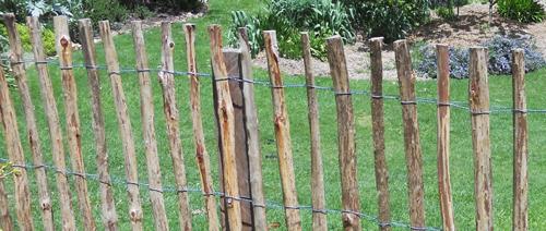 Split Pale Fence
